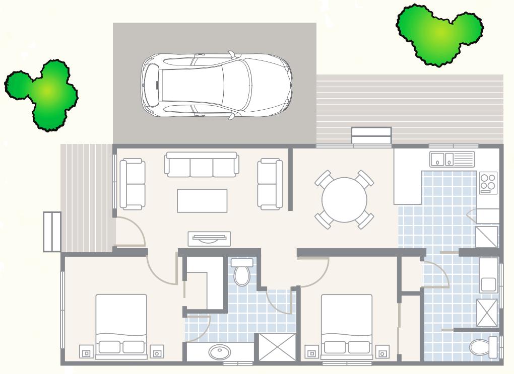 Kingsgate Village Normandy Floor Plan